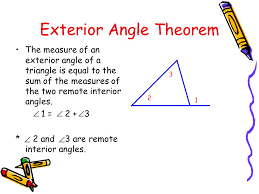 impressive interesting worksheet triangle sum and exterior angle