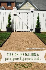 How To Make A Pea Gravel Patio Have The Best Yard On The Block With A Diy Pea Gravel Path