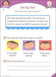 paragraph stories for reading comprehension reading comprehension grade stick workbooks 025231