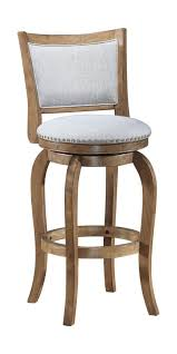 Wooden Swivel Bar Stool One Allium Way Prevost Wooden Swivel Bar Stool Reviews Wayfair