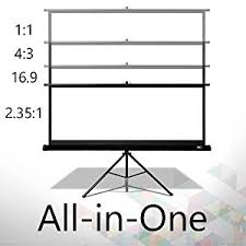 40 tv amazon 115 black friday 119 amazon com elite screens tripod 119 inch adjustable multi