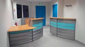 bureau accueil aménagement de l accueil et mobilier de bureau d un centre de