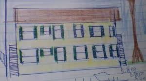 small apartment building plan with 8 units each with one or two