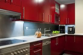 kitchen cabinet colourful cabinets red kitchen how to decorate
