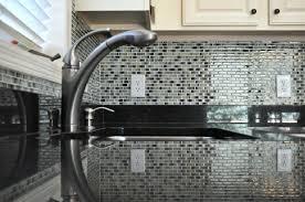 Glass Tile Backsplash Ideas For Kitchens Unique Backsplash Ideas For White Kitchen