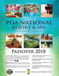 passover program 2018 passover hotel program pga national resort passover vacation