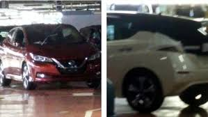 nissan minivan 2018 2018 nissan leaf photographed at the factory where it u0027s made
