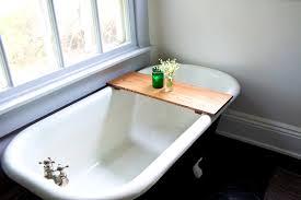 Teak Tub Caddy Accessories Scenic Unique Bathtub Shelf Related Items