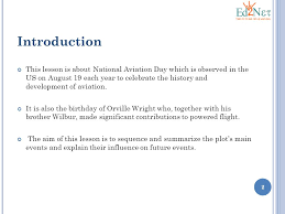national aviation day lesson 4 6 a u2013 readiness standard