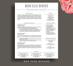 resume template for teachers best 25 resumes ideas on teaching resume free