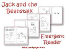 and the beanstalk literacy activities for pre k and kindergarten