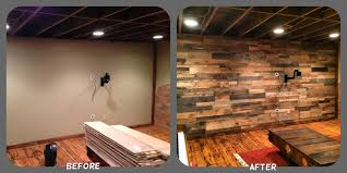 Wood Wall Covering by Recycled Pallet Wood Accent Wall Sustainable Lumber Company