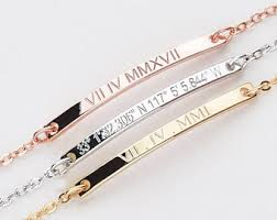 personalized bracelet personalized bracelet etsy