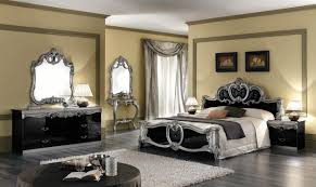 meticulous italian bedroom furniture with black bed frame with
