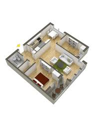 Floor Plan Of Two Bedroom House by 40 More 2 Bedroom Home Floor Plans
