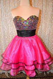 pink colour combination dresses new style sexy black and pink party dresses beaded tiered short