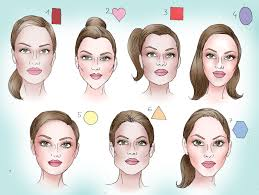 haircut based on your shape determine your face shape face shapes shapes and face