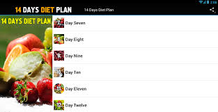 14 days diet plan weight loss android apps on google play