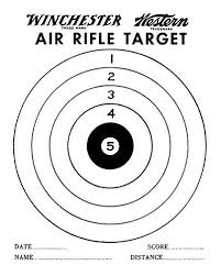 printable shooting targets pdf air gun targets printable air rifle target pdf printable air rifle