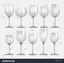Types Of Wine Glasses And Their Uses About Glass Different Types Wine Glasses Illustration Stock Vector 555475498