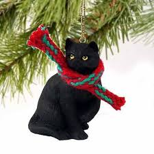 clever and festive cat decorations