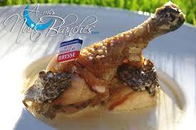 le traditionnel poulet de bresse à la crème façon mère blanc a