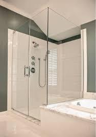 3 Panel Shower Doors Frameless Shower Doors Chicago Custom Frameless Shower Doors