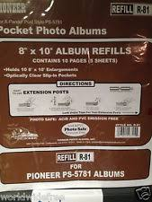 pioneer photo album refill pages pioneer photo album refill pages ebay