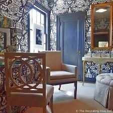 dressing u0026 bath room victorian blue u0026 white color scheme