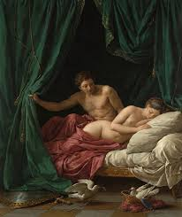 aphrodite painting mars and venus an allegory of peace by louis jean francois lagrenee
