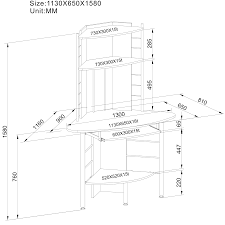 Corner Computer Desk Ebay by Piranha White Compact Corner Computer Desk With 3 Shelves For Home