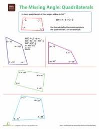 supplementary angles angles worksheets and geometry practice