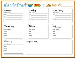 8 best images of dinner menu templates free printable printable