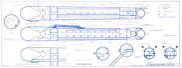 trek blueprints general plans constitution class u s s enterprise