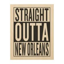 New Orleans Wall Decor New Orleans Wood Wall Art Zazzle