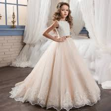 communion dress lace and tulle flower girl dress and communion gown