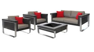 Patio Furniture Superstore by Outdoor Lounge Bella Outdoor Sofa Setting Aluminium Alfresco