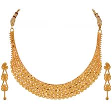 gold necklace design sets images Bridal gold jewellery sets online buy gold earrings online png
