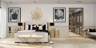 art nouveau bedroom modern art deco home visualized in two styles