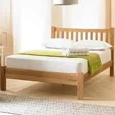 Milan Bed Frame Milan Solid Oak Bed Frame