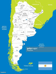 Buenos Aires Map Map Of Argentina Vector Art Getty Images