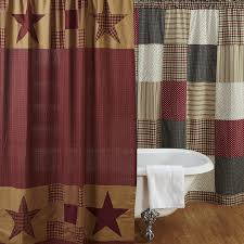 Country Bathroom Shower Curtains Catchy Country Bathroom Curtains Decorating With Vhc Country And