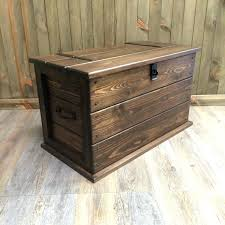 Solid Pine Ottoman Dining Tables With Storage Handmade Solid Pine Trunk Chest Rustic