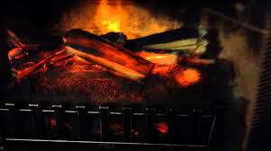 electric fireplace insert with heater w remote duraflame like
