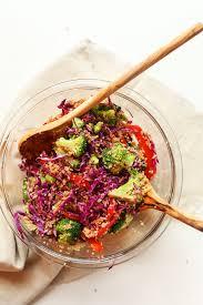 asian quinoa salad minimalist baker recipes