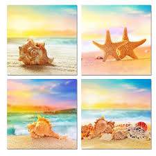 online buy wholesale beach scene pictures from china beach scene 4 piece modern canvas seascape canvas prints beautiful beach scenes beach picture wall art painting for