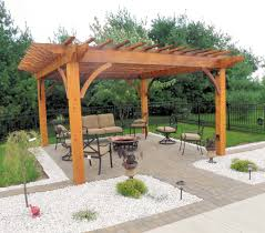 How To Build A Wooden Pergola by Wood Pergola Plans Custom Patio Pergola Cedar Pergola With Stone