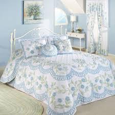 cottage bloom floral chenille oversized bedspread