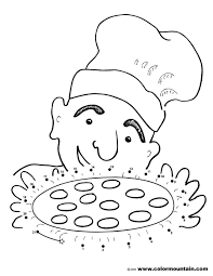 dot coloring pages pizza dot to dot activity coloring page create a printout or