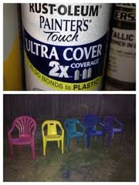 Paint For Outdoor Plastic Furniture by Quick 15 Minute Update For Outdoor Patio Chairs Krylon Fusion For
